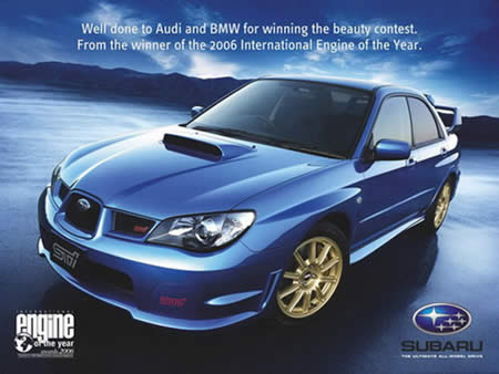 Subaru's Response to AUDI and BMW